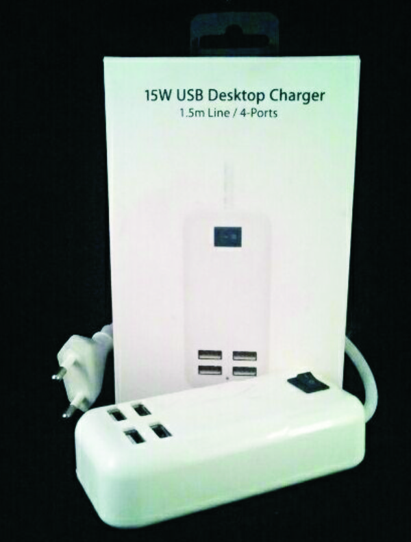 USB Dekstop charger 4 port