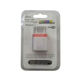 Adaptor 2 USB 1A-2A