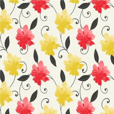 Direct Wallpapers Majestic Wallpaper E59705 - Yellow/Red | I Want Wallpaper