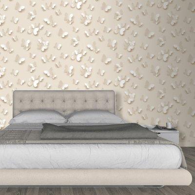Muriva Just Like It Butterfly 3D Butterflies Pattern Wallpaper J65807