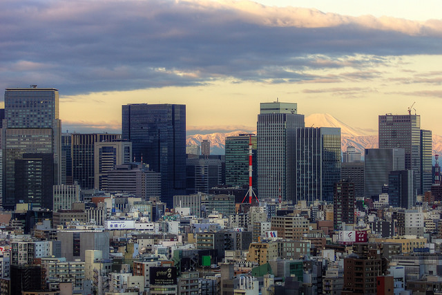 Fuji view from Tokyo