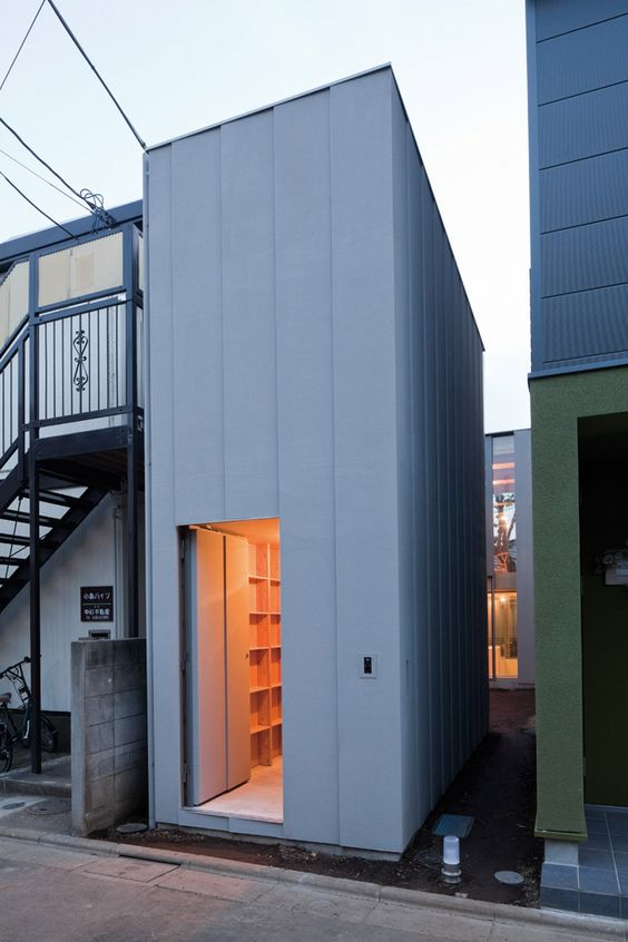Near House - A narrow home in Tokyo, Japan designed by Mount Fuji Architects Studio