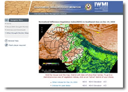 IWMI's Drought Monitoring System
