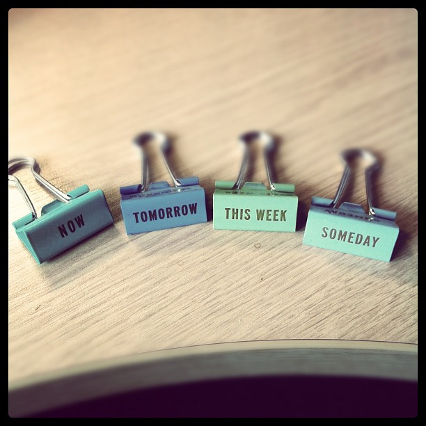 Filing clips so which one does stuff from you go in #iphone #todo #fun
