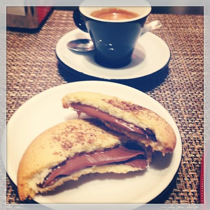 Cafe and biscotti nom nom nom