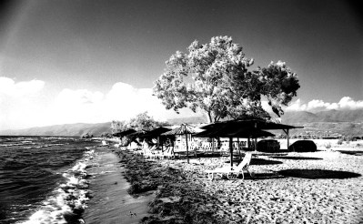 Arapis Beach in Infrared.