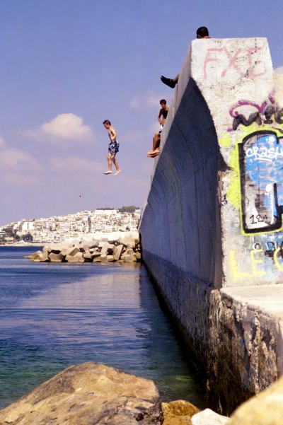 Walking in the Air (Seaside Wall 3)
