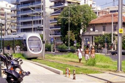Walking in the Tram lines