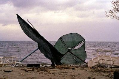 Fallen Umbrellas