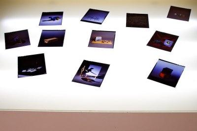 Slides on a Light Table