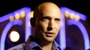Naftali Bennett, head of the Jewish Home party, campaigns at a bar in the southern city of Ashdod in December 2012. REUTERS/Amir Cohen