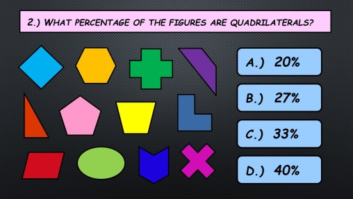 Mental Math Fractions Quads
