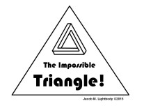OpArtDrawtheImpossible3DTriangle 1