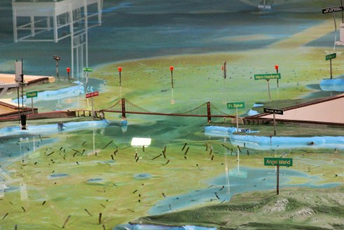 The San Francisco Bay watershed model in Sausalito is amazing