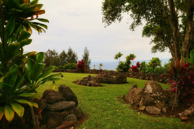 Inside the Heiau