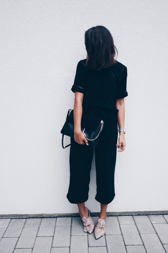 All Black Outfit Topshop Mules 3