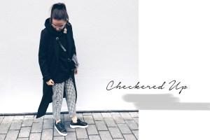 Checkered Pants Single Earring Mango Jacqueline Isabelle
