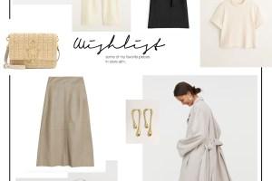 Wishlist März