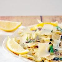 Lemon Artichoke Pasta