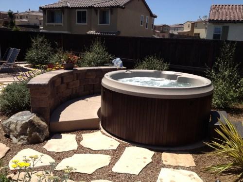 Medium Of Round Hot Tub
