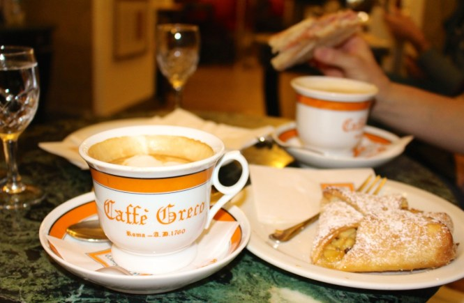 The Oldest Cafe in Rome, Antico Caffe Greco