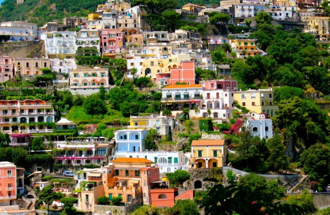 A Drive Up The Amalfi Coast Positano