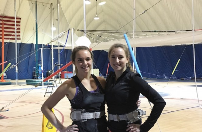 Try a trapeze class at TSNY Boston to learn how to fly like a pro! It's an exhilarating and fun workout! | #Trapezeschool #Trapezeclasses #TSNYBOSTON