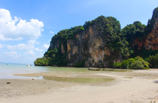 Have The Best Day in Thailand Learning to Rock Climb at Railay Beach with the Pros!