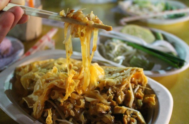 The Krabi Night Market is the best place to find fresh local Thai food in Krabi!