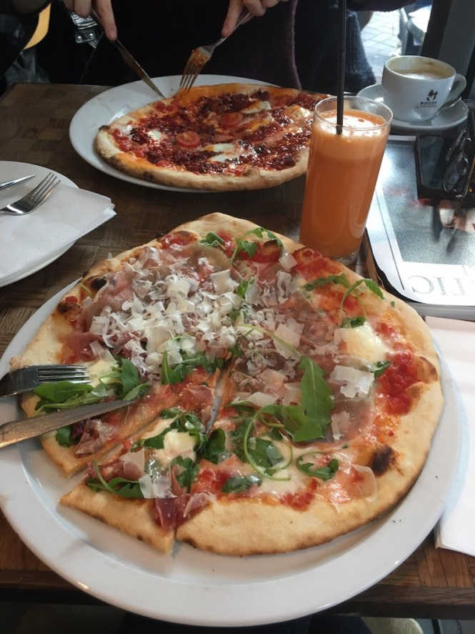 If you are looking for the best pizza in Amsterdam, La Perla's got it! This place is downright delicious and loved by tourists and locals alike.