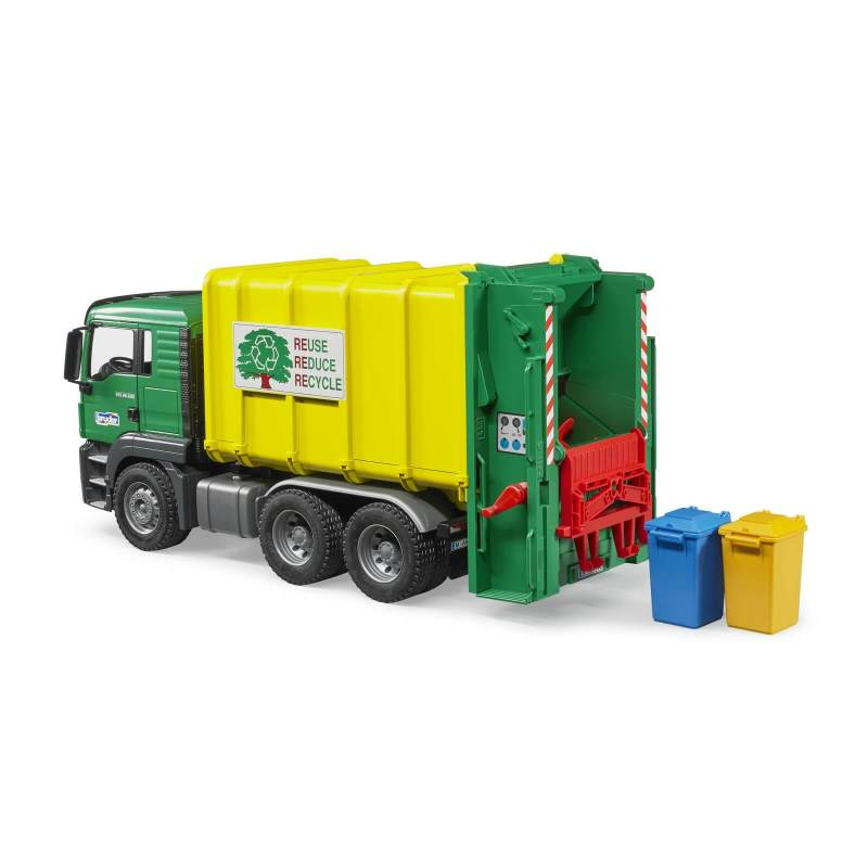 Large Of Bruder Garbage Truck