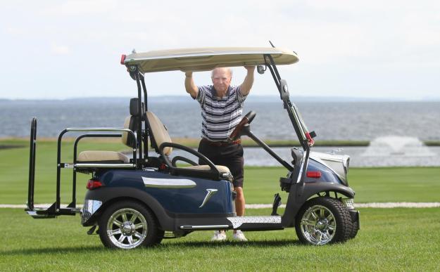 jaguar golf cart
