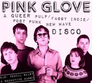 pink glove