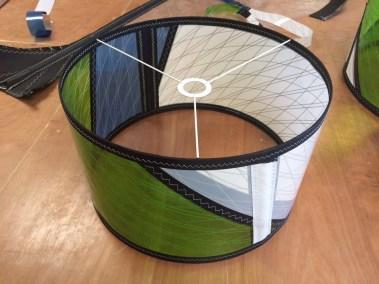 abat jour voile de windsurf recyclée voilerie j ai cassé ma voile 5