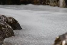 eau gelée