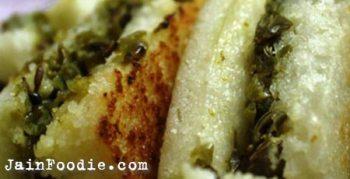 Jain Sandwich Dhokla