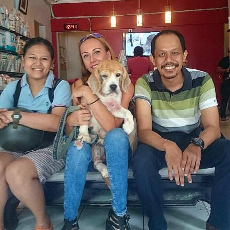 Thank you to Maria & Peter for giving Bonita a second chance in life! We just know you will give her the good life she deserves!