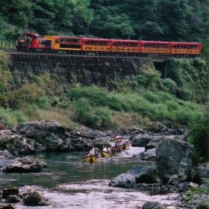 TRAIN KYOTO -CREDIT PHOTO Japan National Tourism Office