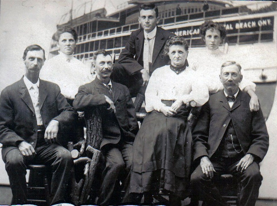 Chris Climenhage family circa 1905