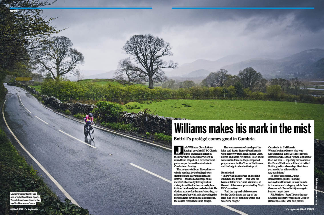 Cycling Weekly Time trial