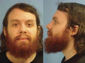 Andrew Auernheimer - mug shot, Fayetteville Police