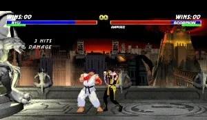 Street Fighter 2 Vs Mortal Kombat