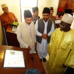 a short briefing on E. Library Jamia Ahmadiyya Ghana