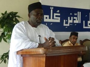 Alhaj Abu Bakr Anderson Speech