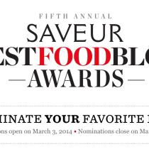 Best Food Blog Awards
