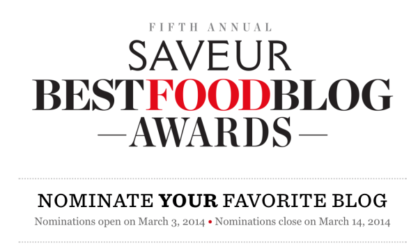 Best Food Blog Awards
