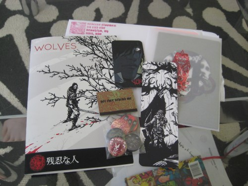 Bunch of Cool Stuff From Becky Cloonan