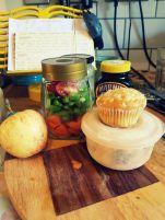 JamJarGill: Meatless Monday: wk50: Lunch