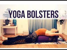 Yoga Bolster Position
