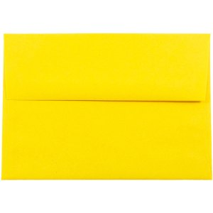 Excellent 1000x1000 01780 Yellow A7 Envelopes 5 1 4 X 7 1 4 5x7 Envelopes Uk 5 X 7 Envelopes Office Depot